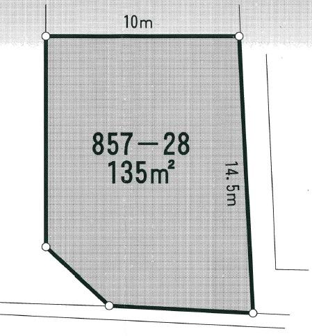 売地 野木331 100坪