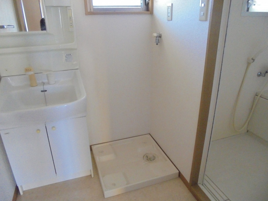 ウィズパピー202 洗濯機置場洗面所